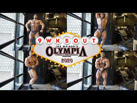 9 WEEKS OUT FROM THE MR.OLYMPIA | GIANT ARM WORKOUT WITH FRANK MC GRATH