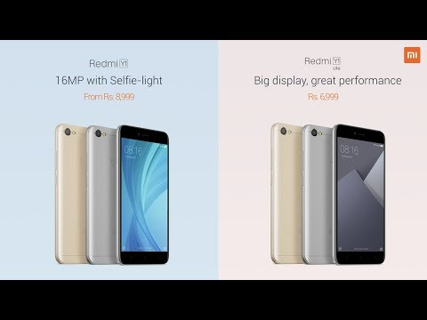 Redmi Y1 and Redmi Y1 Lite Launched, Specs, Price, Should you Buy it ?