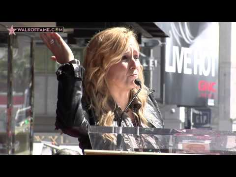 Melissa Etheridge Walk of Fame Ceremony