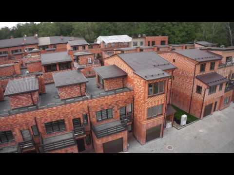 Съемка с воздуха поселок Николино.