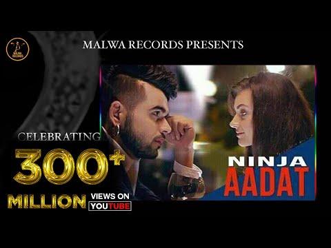 Aadat Punjabi Song By Ninja   Latest Punjabi Song 2015   Malwa Records