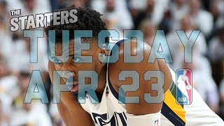 NBA Daily Show: Apr. 23 - The Starters by NBA