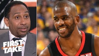 Stephen A. explains how a Chris Paul trade to the 76ers would work for Philly, Rockets | First Take