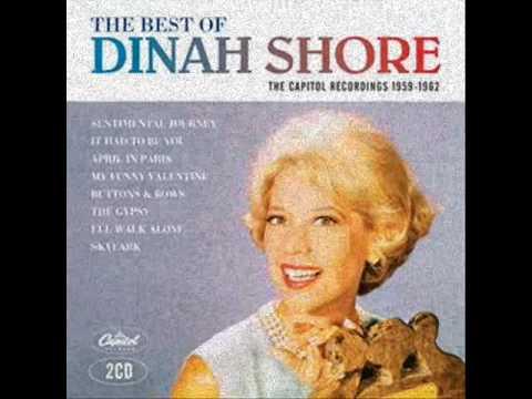 Dinah Shore - Sentimental Journey lyrics