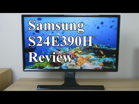 Samsung S24E390HL review (E390 vs. D390 & D590)