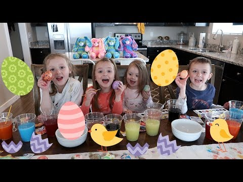 Video Coloring Easter Eggs with Kool-Aid download in MP3, 3GP, MP4, WEBM, AVI, FLV January 2017