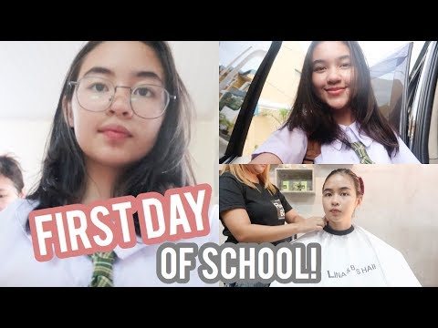 VLOG: First Day Of School + Pamper Day at Rina & Boss