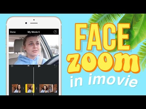 Emma Chamberlain Zoom Effect In IMovie For IPhone