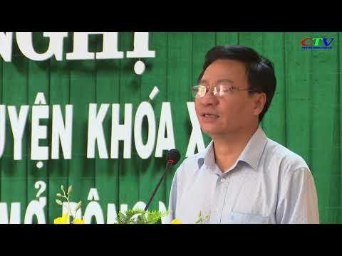 Hội nghị BCH Đảng bộ huyện lần thứ 25 mở rộng