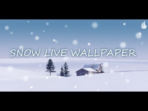 Video of Snow Live Wallpaper