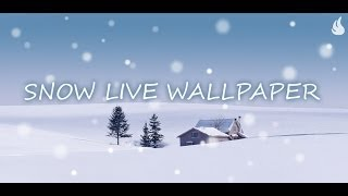 Snow Live Wallpaper YouTube video