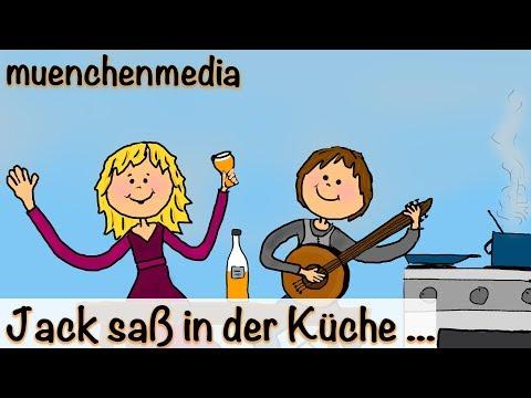 Jack saß in der Küche - Kinderlieder deutsch / Bewegungslieder deutsch | muenchenmedia