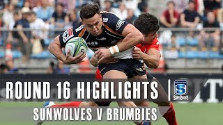 Sunwolves v Brumbies Rd.16 2019 Super rugby video highlights | Super Rugby Video Highlights
