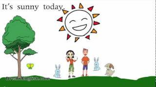 How's The Weather? Song and Cartoon for Kids