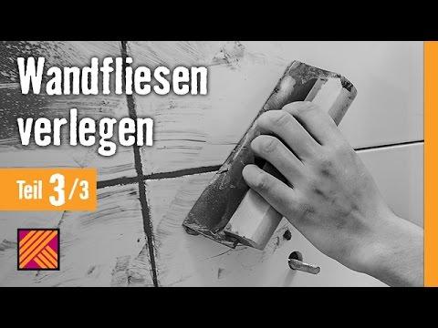 Version 2013 Wandfliesen verlegen - Kapitel 3: Fliesen verfugen |