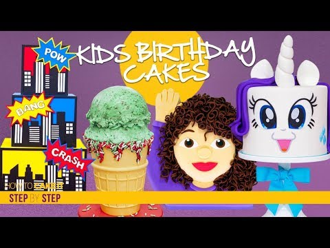 Birthday messages - 4 Amazing Kid's Birthday Cakes  CAKE Compilation  How To Cake It  Yolanda Gampp