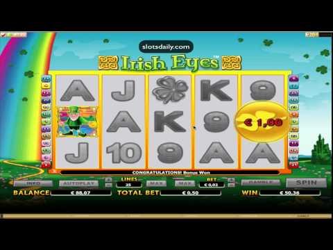 100x bet on Irish Eyes slot (Microgaming)