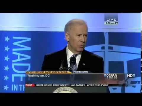 new world - Vice President Joe Biden calls for the creation of a