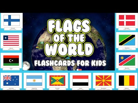 Explore the Worlds Country Flags