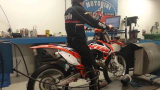 4. KTM125 sx Dyno run 41HP Motorini