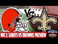 The Sports Coma Show #230 Saints VS Browns Preview