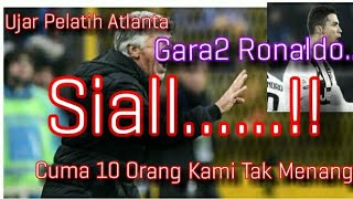 Video Sialll...!! Gara2 Ronaldo - Cuma 10 Pemain Kami Tak Jadi Menang - Ujar Pelatih Atlanta MP3, 3GP, MP4, WEBM, AVI, FLV Januari 2019