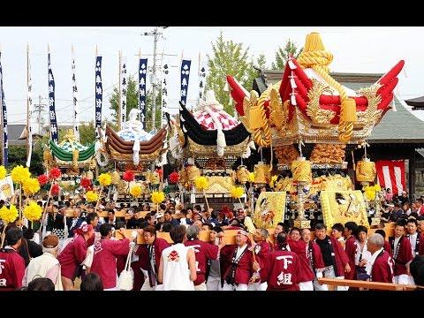 加東・佐保神社で秋祭り本宮