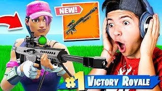 Download Video *NEW* HEAVY SNIPER GAMEPLAY! - Fortnite Battle Royale MP3 3GP MP4