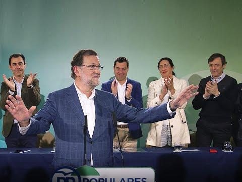 Rajoy: «Para ser presidente no puede bastar con hipotecarse y humillarse. No vale todo»