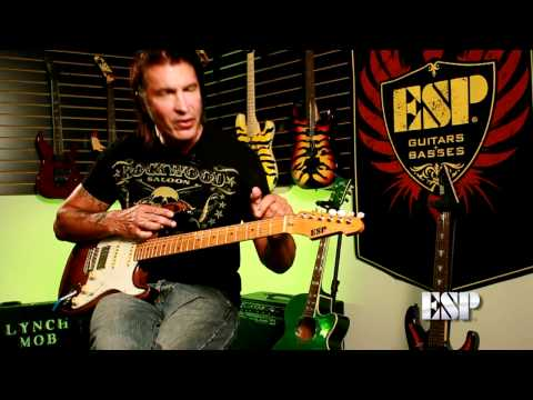 George Lynch demos the ESP GL-56