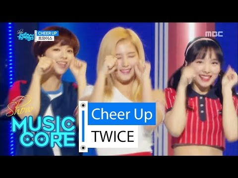 Video [Comeback stage] TWICE - CHEER UP, 트와이스 - CHEER UP Show Music core 20160430 download in MP3, 3GP, MP4, WEBM, AVI, FLV January 2017