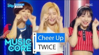 [Comeback stage] TWICE - CHEER UP, 트와이스 - CHEER UP Show Music core 20160430, clip giai tri, giai tri tong hop