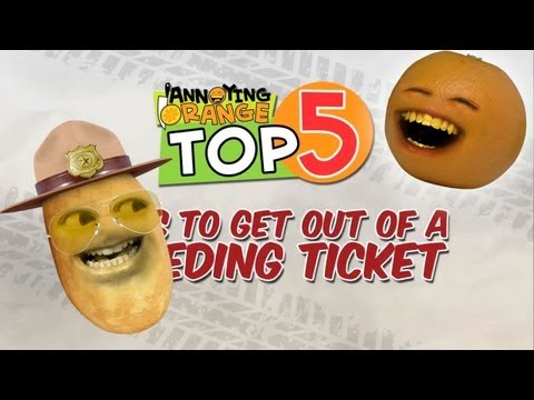 speeding - Sweet! No ticket! HAHAHA! The Annoying Orange DVD is here!!! http://youtu.be/IaV59-qBu_4 MERCH: MUSIC! http://bit.ly/AOMusic AO TOYS! http://bit.ly/AOToys T-...