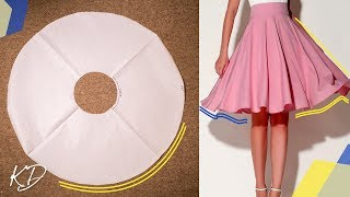 Video HOW TO: MAKE FULL CIRCLE SKIRT PATTERN | KIM DAVE download in MP3, 3GP, MP4, WEBM, AVI, FLV January 2017