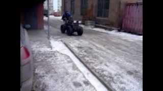 Самодельный трактор УХТЫ 2(покатушки).mp4