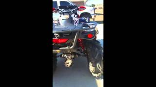 5. 2016 Can-am Outlander XMR L 570 with HMF Exhaust s