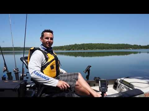 Lowrance Elite 3x Fishfinder On The Water
