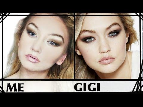EJ: Watch How These Youtube Star Uses Make Up To Make Herself Look Like Gigi Hadid
