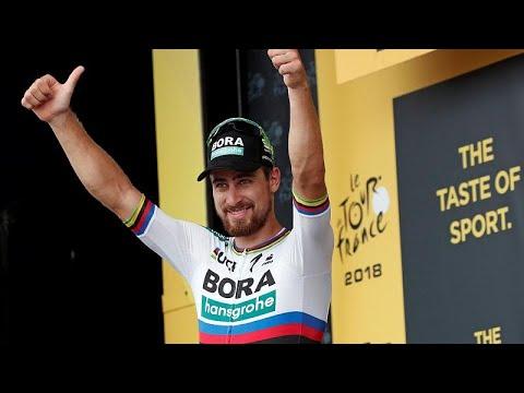 Tour de France: Sagan rast zum dritten Etappensieg