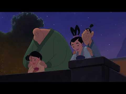 Mulan 2 - Li Shang and Mulan Fight