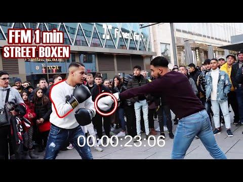 STREET BOXEN IN FRANKFURT HAUPTWACHE..🥊 POLIZEI STÜRMT DIE AKTION..😱