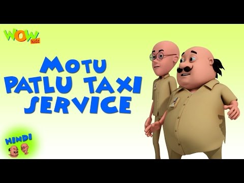 Motu Patlu Cartoons In Hindi |  Animated cartoon | Motu Patlu Taxi Service | Wow Kidz