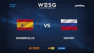Savvat vs Kaisercillo, game 1
