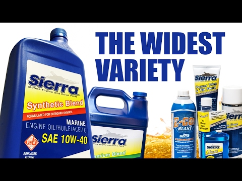 Sierra Oil & Lubricants for Marine Engines
