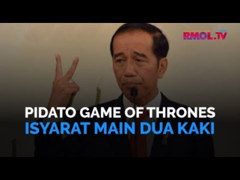Pidato Game Of Thrones Isyarat Main Dua Kaki