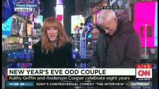 Past Highlights - New Year's Eve Live 2015 Anderson Cooper Kathy Griffin Times Square New York