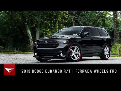 2013 Dodge Durango R/T | Ferrada Wheels FR3