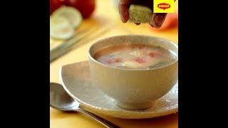 Warm up yourself with a yummy bowl of MAGGI Thai Soup with Ginger!!!