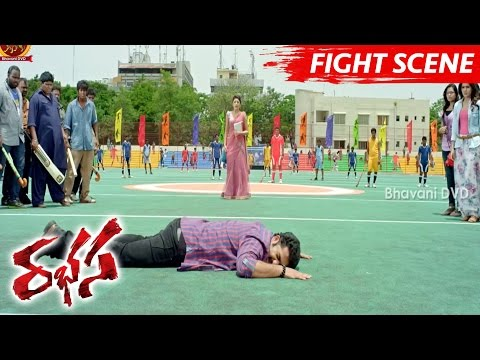Jr NTR Comedy With Raghu Babu - Funny Fight Scene - Rabhasa Movie Scenes