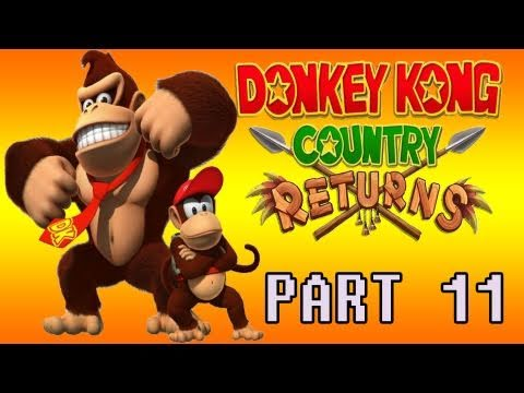 preview-Donkey Kong Country Returns (Wii) Part 11 (Kwings)